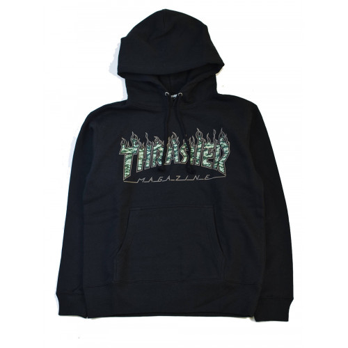 Thrasher Tiger Flame Hooded
