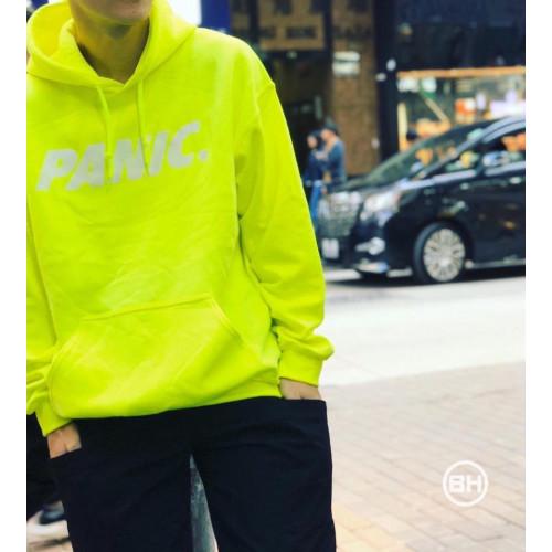 PANIC 39 Hoodie (White Reflective) Neon