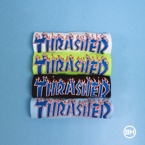 Thrasher Blue Flame T-Shirt
