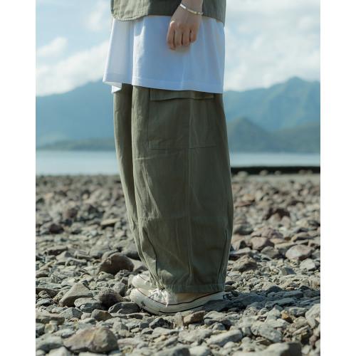 FUM-GIRL 日系扯布闊褲