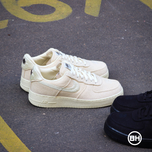Stüssy Nike Air Force 1 Low Fossil