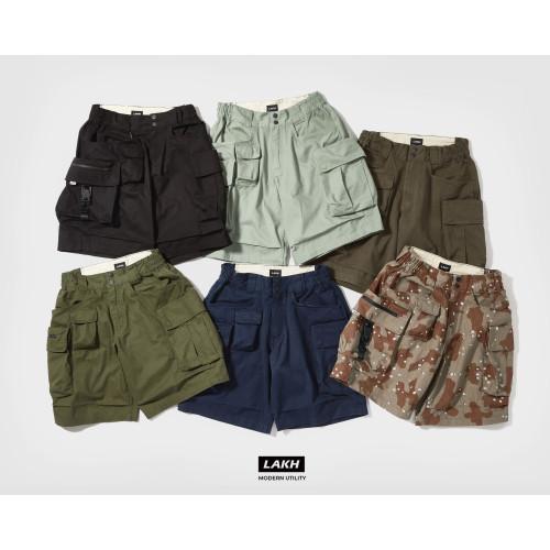 LAKH Ten Pockets Cargo Shorts