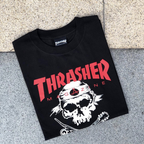 Thrasher Skate Rock T-shirt Black