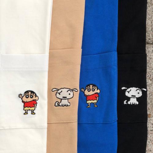 SPAO Crayon Shin Chan Pocket T-shirt