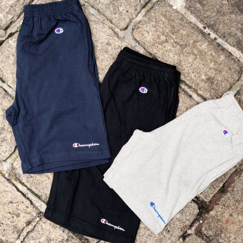 Champion Script Logo Shorts Men