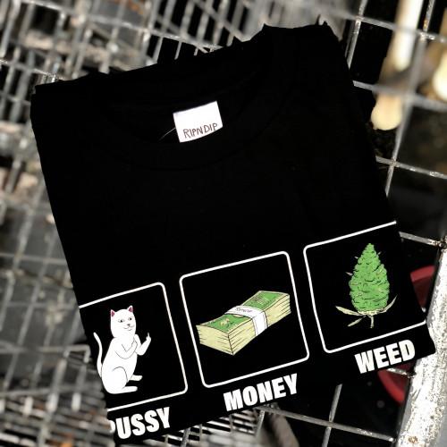Ripndip Pu$$y Money Weed Tee