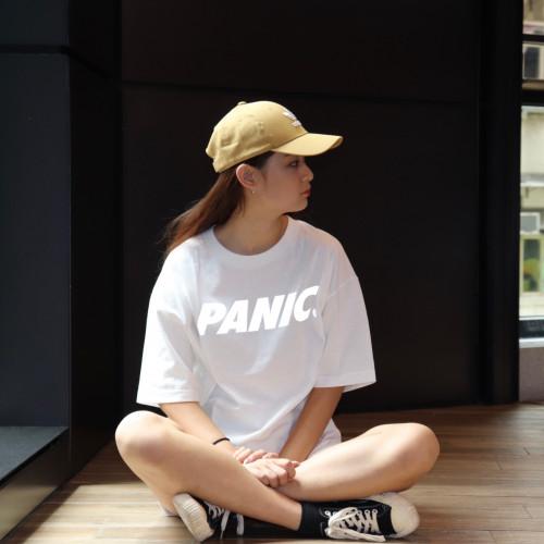Panic 39 Logo. T-Shirt White Refective