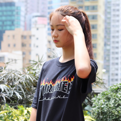 Thrasher Scorched Outline T-Shirt