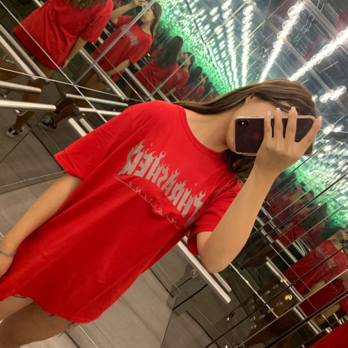 Thrasher Reflective Flame T-shirt