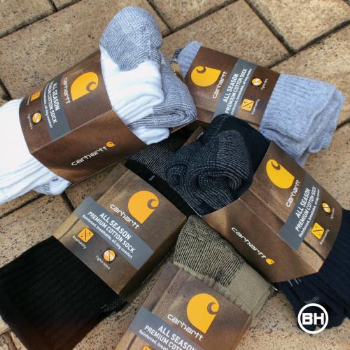 Carhartt All-Season Cotton Crew Sock