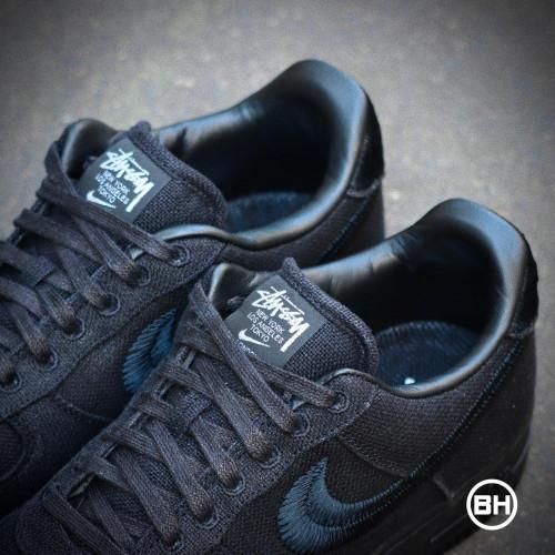 Stüssy Nike Air Force 1 Low Black
