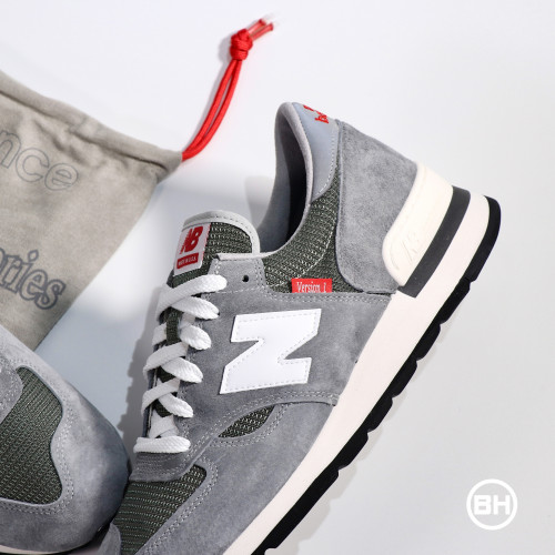 New Balance 990 M990VS1 Grey with Red