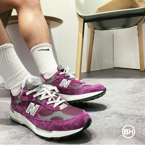 New Balance M992BA Purple