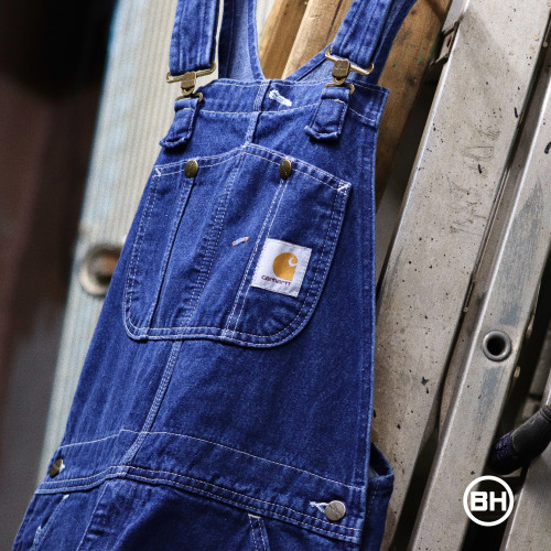 Carhartt Washed-Denim Bib Overalls