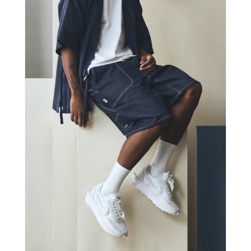 LAKH Worker Shorts Strip Navy