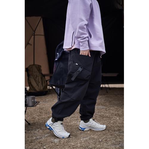 LAKH Slanted Pockets Cargo Pants