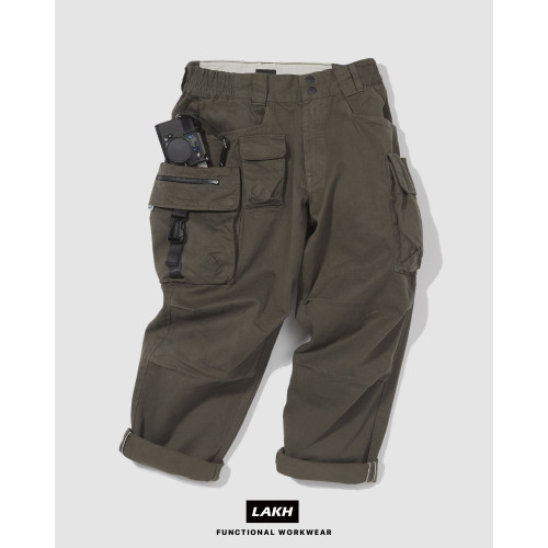 LAKH Ten Pockets Cargo Pants