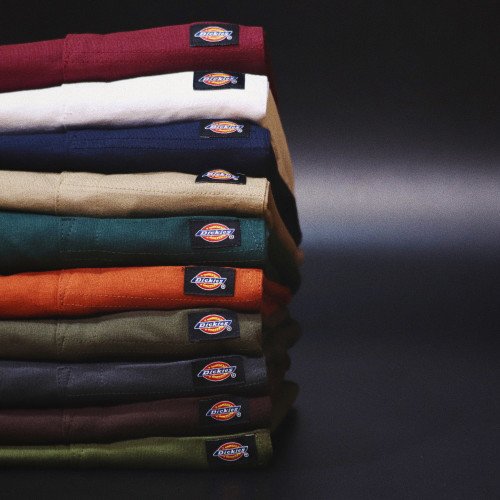 Dickies Long Sleeve Heavyweight Crew Tee