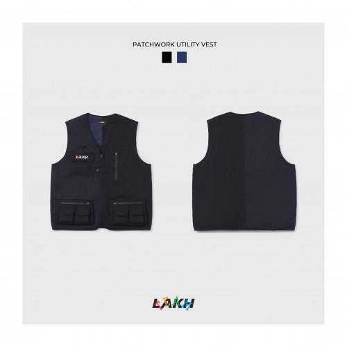 LAKH Patchwork Utility Vest